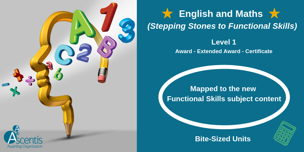 English and Maths (Stepping Stones to Functional Skills)