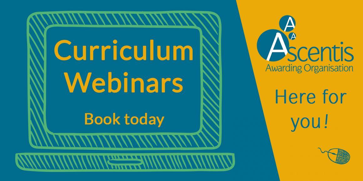 Ascentis Curriculum Webinars
